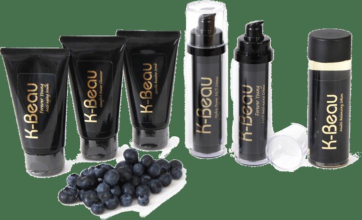 K-Beau assortiment huidvriendelijke cosmetica